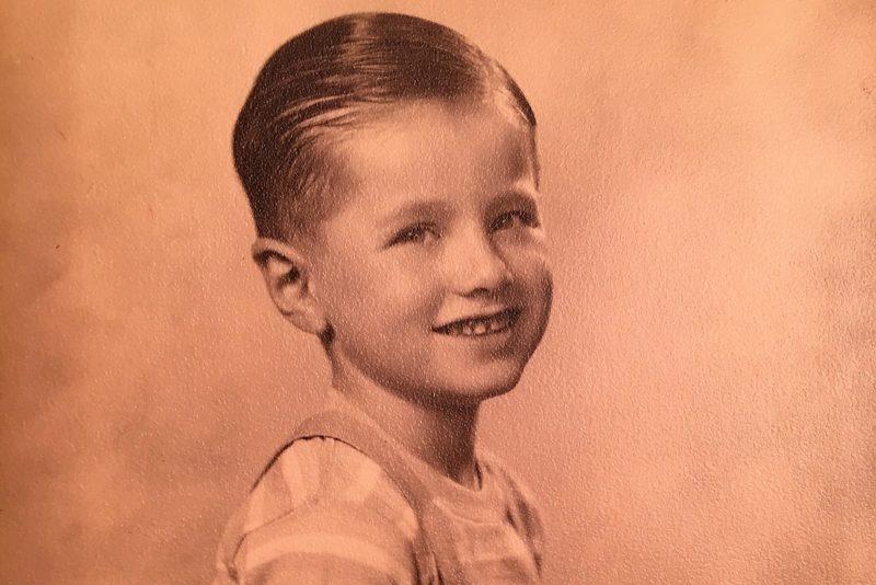 My dad at age 7